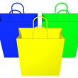 Shopping bags — Stock fotografie