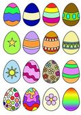 Decorated Eggs — Stockfoto