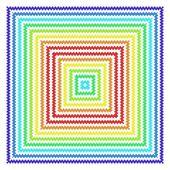 Zigzag design — Stock Photo