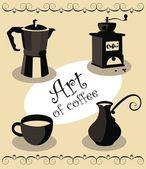 Art du café — Vecteur