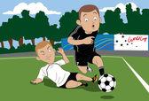 Soccer Trick — Stock Vector