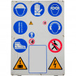 Safety equipment — Stockfoto