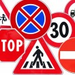 Collection of road sign - Photo