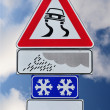 Slippery when wet — Stock Photo