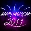 Happy New Year 2011 - Stock Photo