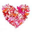 Vector Valentine heart - Stock Vector