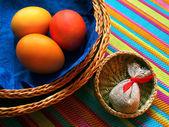 Three baskets — Stock fotografie