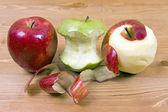 życie apple — Zdjęcie stockowe