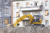 Escavatore della terra — Foto Stock