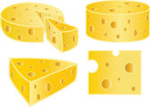 Cheese — Vector de stock