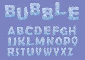 Bubble testo — Vettoriale Stock