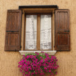 Italian shutter window — Stock Photo