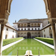 Stock Photo: Patio de Arrayanes, Alhambra