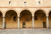 Sforza Castle — Stock Photo