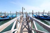 венецианская гондола — Стоковое фото