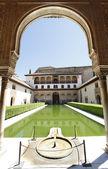 патио де arrayanes, альгамбра — Стоковое фото