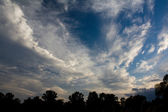 Gloomy clouds — Stock Photo