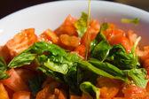 Tomatoes salad — Stock Photo