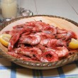 Royal Reds Shrimp — Stock Photo