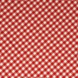 Stock Photo: Red Gingham Background