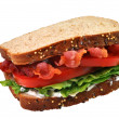 BLT Sandwich,  Isolated, Clipping Path — Stock Photo