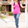 Stock Photo: Female College Student