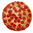 Stock Photo: Pepperoni Pizza