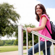 Female College Student - Stock Photo