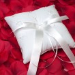 Stock Photo: Ring Bearer's Pillow