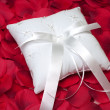 Ring Bearer's Pillow — Stock Photo