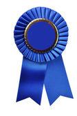 Blue Ribbon Award (with clipping path) — Stock Photo