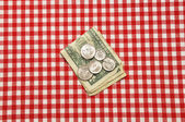Tip on Table — Stock Photo