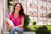 Female College Student — Stock Photo