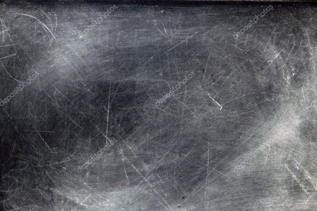 Black chalkboard with chalk dust with copy space.   — Photo #3158163
