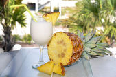 Pina Colada with Pineapple — Stock Photo