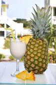 Pina Colada with Pineapple — Stock Photo
