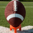 American Football Kickoff - Stock Photo