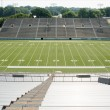 High School Football Stadium — Stock Photo