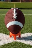 American Football Kickoff — Stock Photo