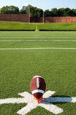 American Football Kickoff — Stock Photo