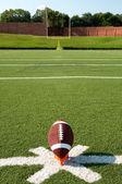 Kickoff di football americano — Foto Stock