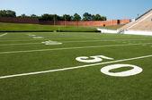 American Football Field — Stock Photo