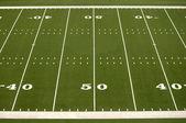 Empty American Football Field — Stock Photo