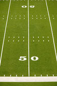 Empty American Football Field — Stock Photo