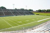 High School Football Stadium — Stock Photo