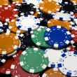 Gambling Chips Isolated — Stock Photo
