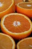 Hi res orange slices background — Stock Photo
