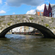 Brugge bridge - Foto de Stock  