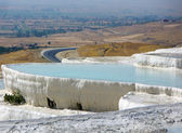 Pamukkale Turcia — Stock Photo