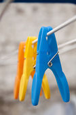 Clothes pins — Stock Photo